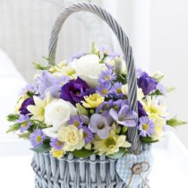 Baby Boy Basket Arrangement