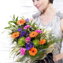 Dazzling Bright Presentation Bouquet