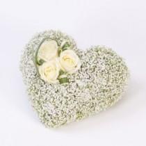 Heart Casket Adornment
