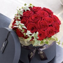 Luxury Grand Prix Rose Hatbox