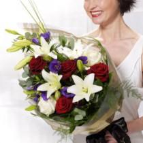 Vivid Elegance Presentation Bouquet